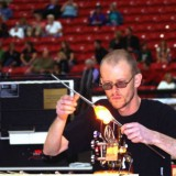 jelly at work | international hot glass invitational | las vegas | 2009